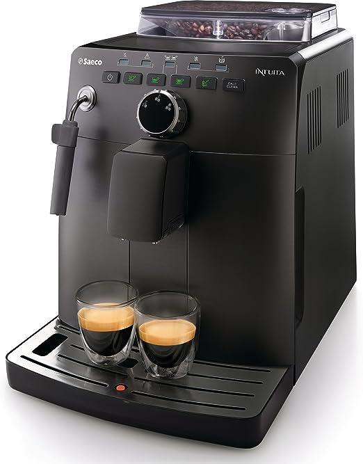 Saeco HD8750/11 - Cafetera automática (Goteo, Independiente, Negro ...