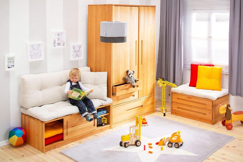 BioKinder 25175 Sitzkissen Sitzpolster Palettenkissen 120x55 cm Baumwolle