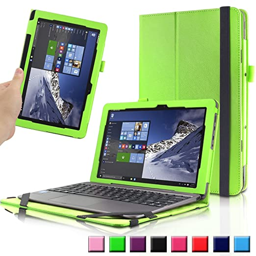 35 opinioni per Infiland Asus T100HA Custodia Case- Slim Folio in pelle Smart Ultra sottile e