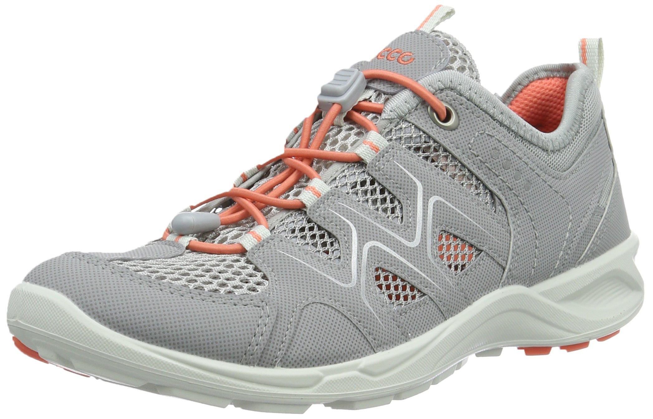 ECCO Women's Terracruise Hiking Shoe, Silver/Grey, 38 M EU (7-7.5 US)