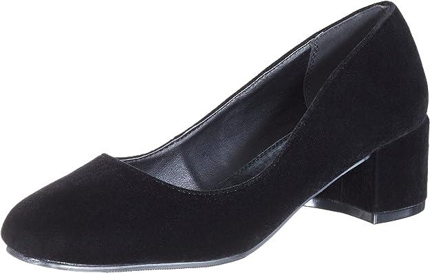 Ilse Jacobsen Samt Pumps, Zapatos de tacón con Punta Cerrada para Mujer