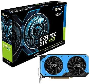 Palit NVIDIA GeForce GTX 950 Storm X DUAL 2 GB GDDR5 Graphics Card