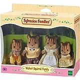 Sylvanian Families 4172 Walnut Squirrel Family, Multicolor