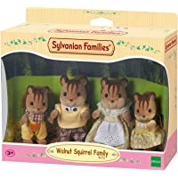 Sylvanian Families Walnut Squirrel Family,Figures