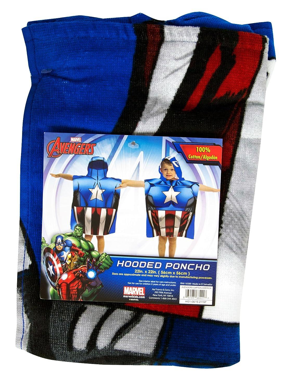 Jay Franco Hooded Poncho Avengers Assemble