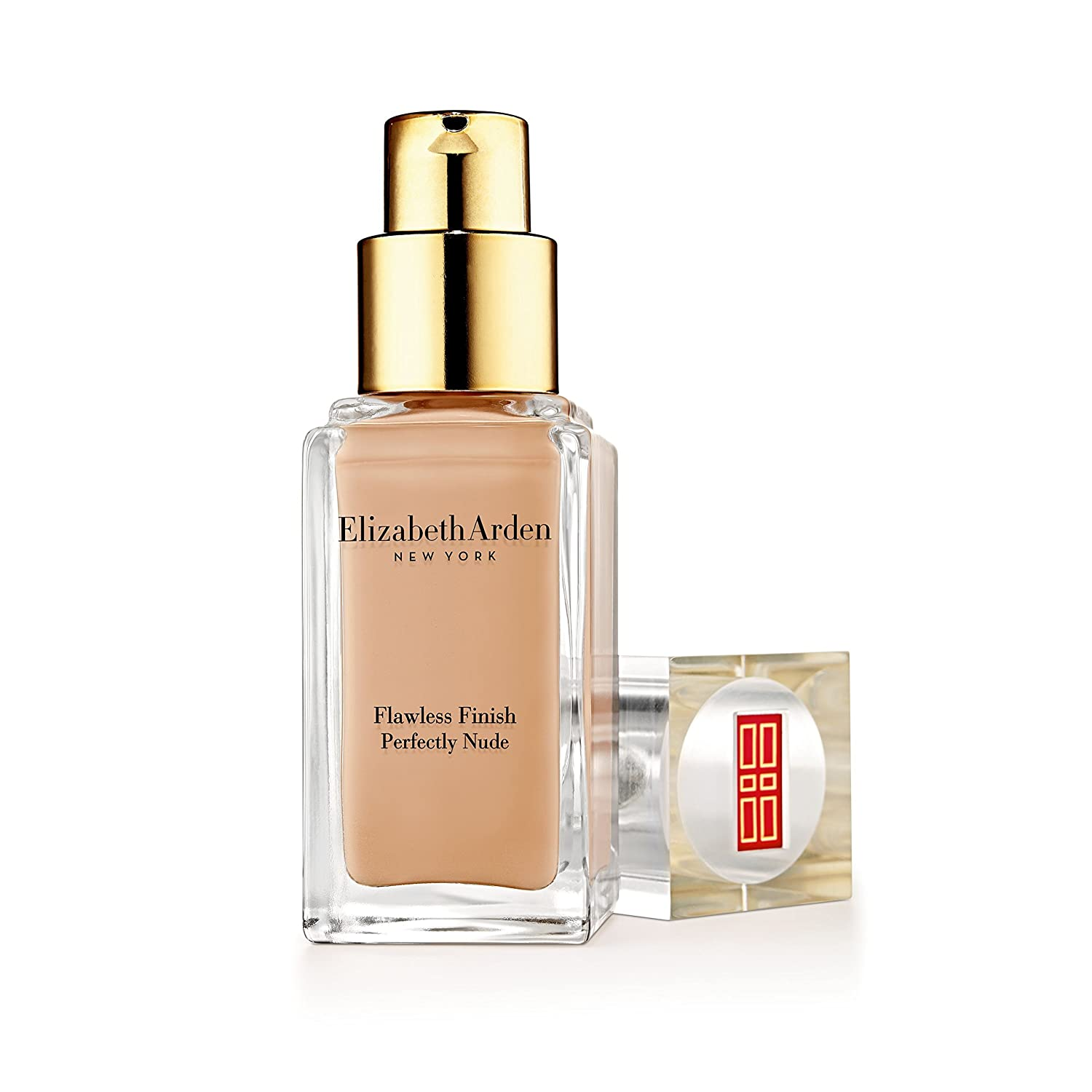 Elizabeth Arden Flawless Finish Perfectly Nude Makeup SPF 15, No.05 Natural Foundation, 1 Ounce