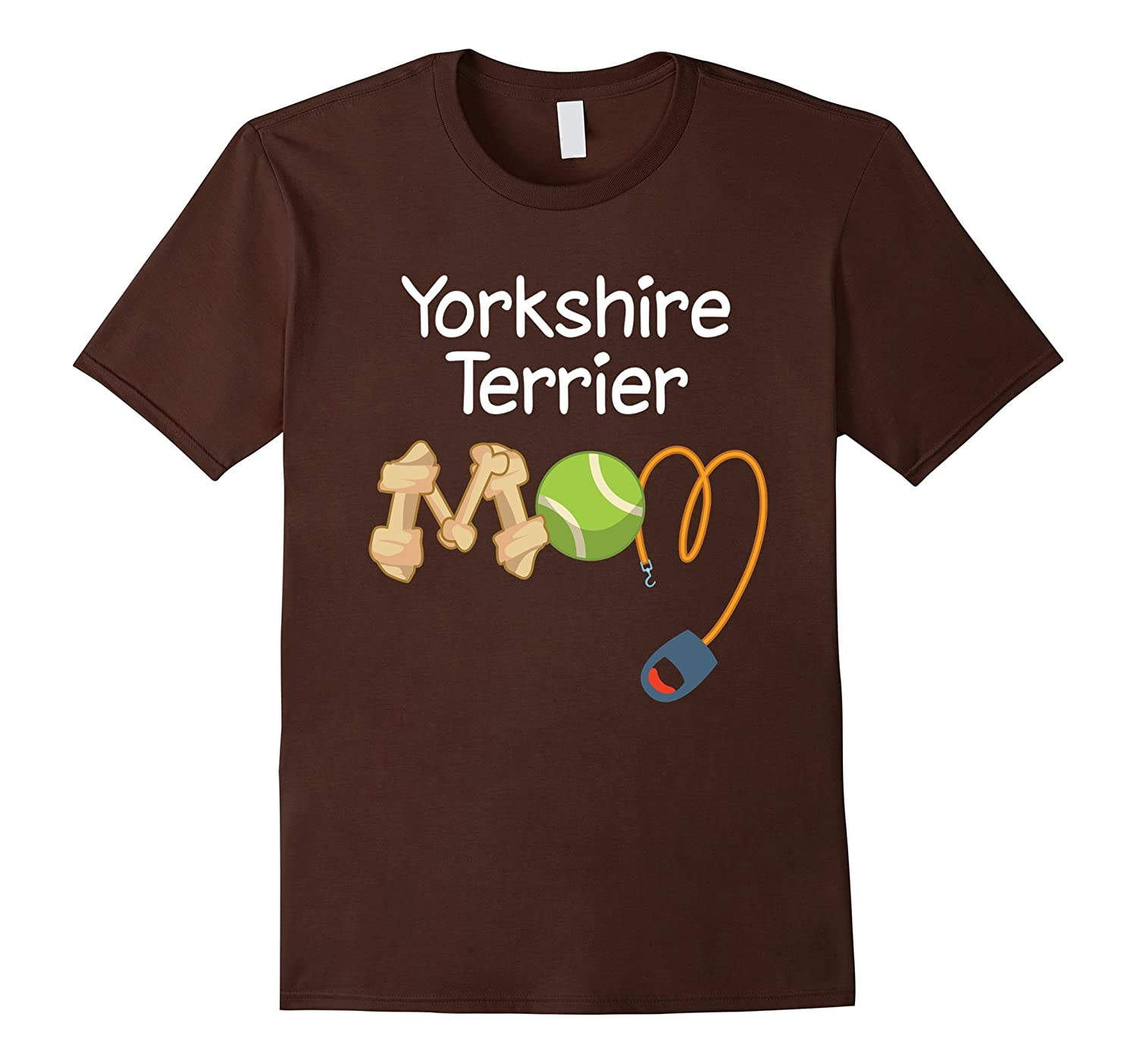 Yorkshire Terrier Mom Dog Shirt-TH