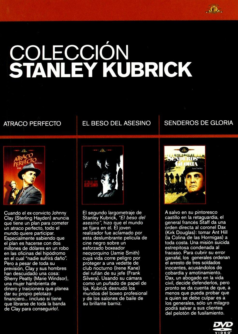 Stanley Kubrick - Bxs 3 Titulos [DVD]: Amazon.es: Frank Silvera, Jamie Smith, Irene Kane, Jerry Jarret, Mike Dana, Felice Orlandi, Shaun OBrien, Barbara Brand, Skippy Adelman, Kirk Douglas, Ralph Meeker, Adolphe Menjou,