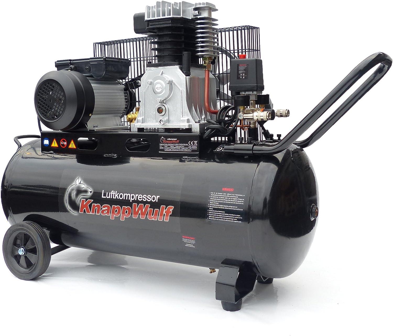 Knapp Wulf Compresor De Aire kw3100 con depósito 100L Impresión ...