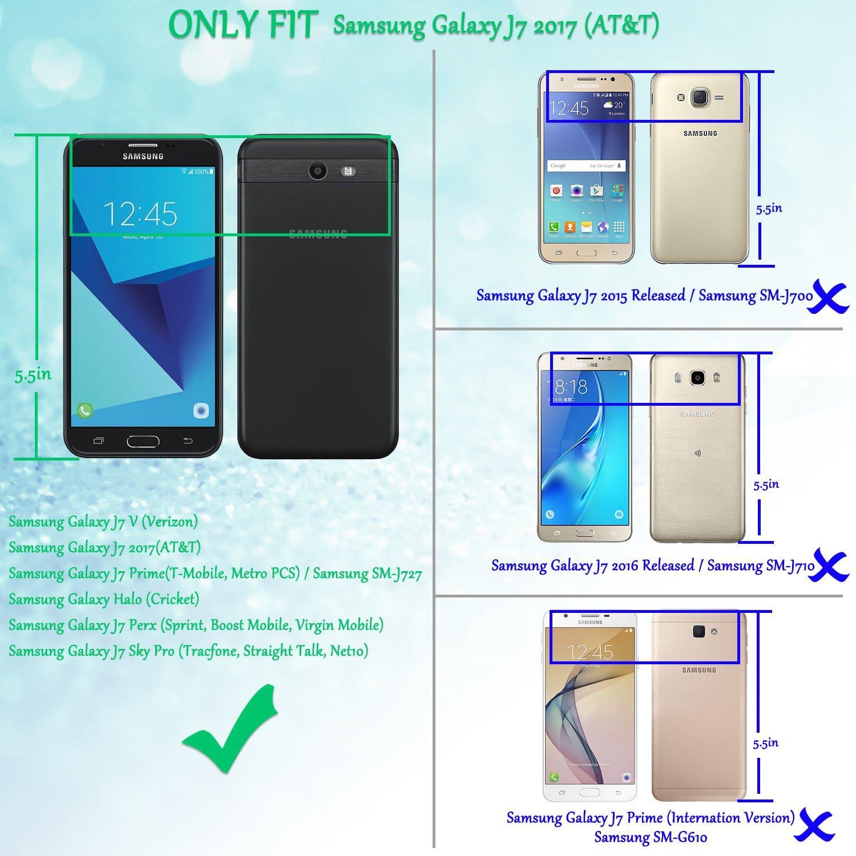Paquete de 3] TAURI para Samsung Galaxy J7 Prime / J7 V/Galaxy ...