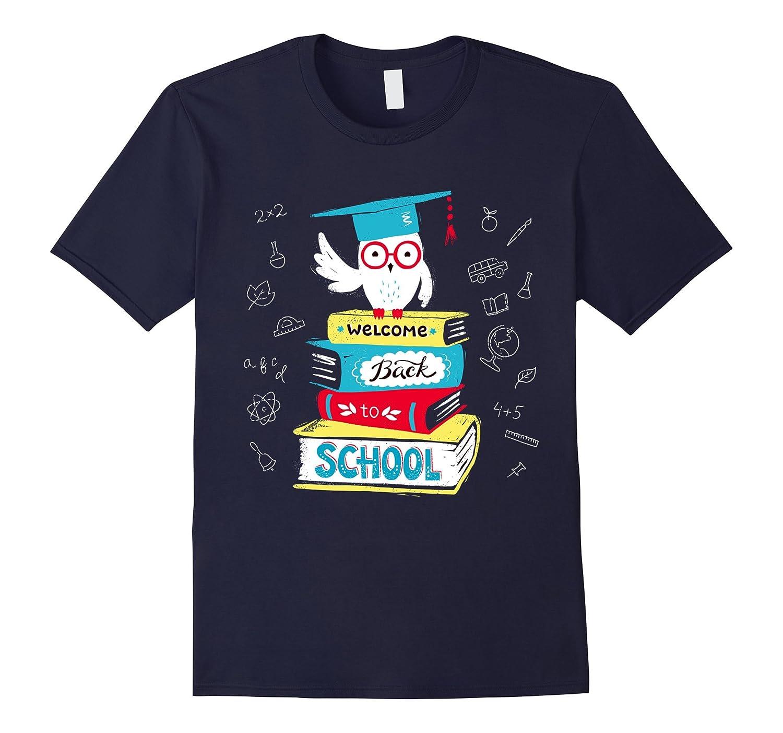 Welcome Back to School Owl Kids & Teacher T-Shirt-BN