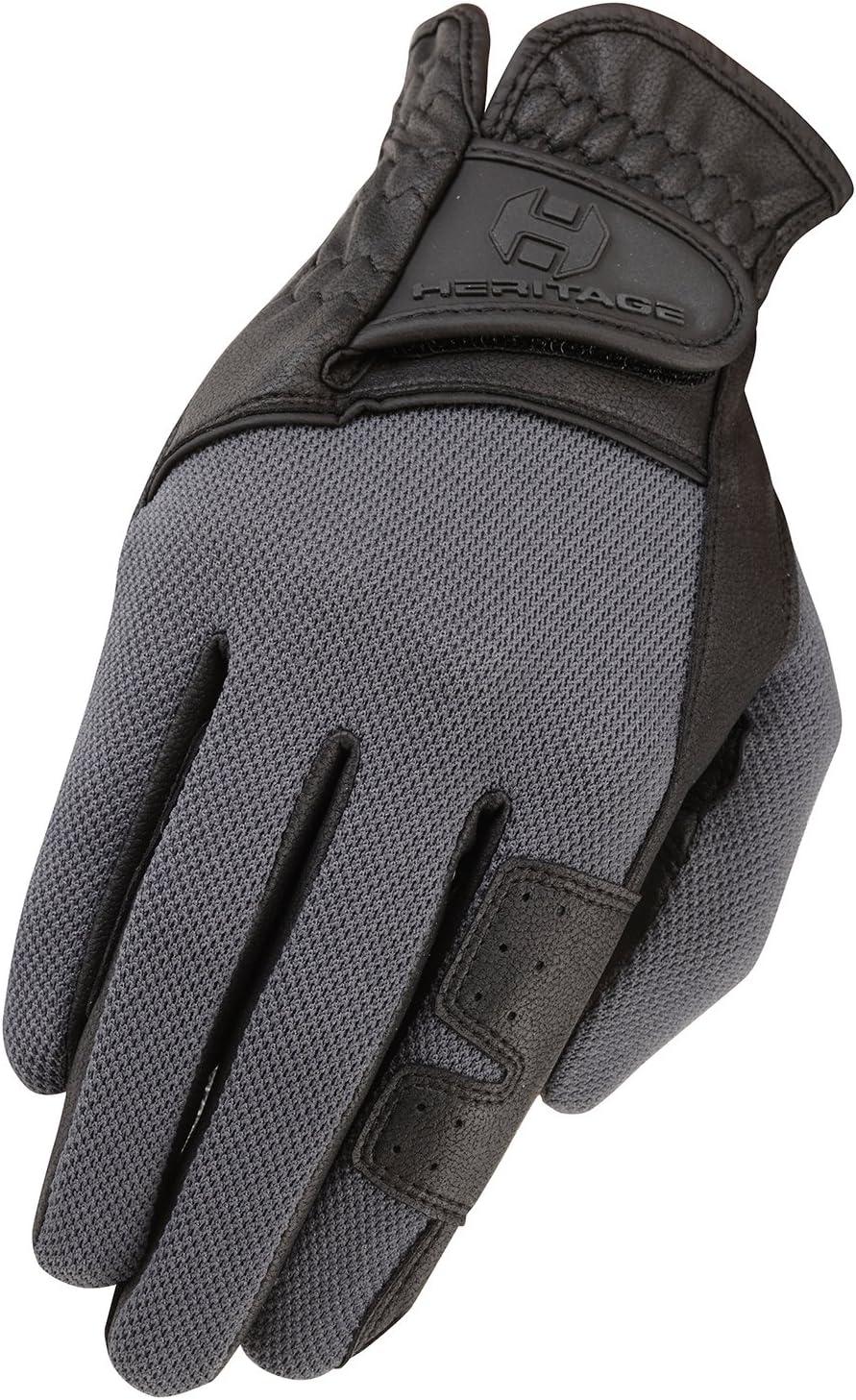 Heritage X-Country Glove Black//Gray 11