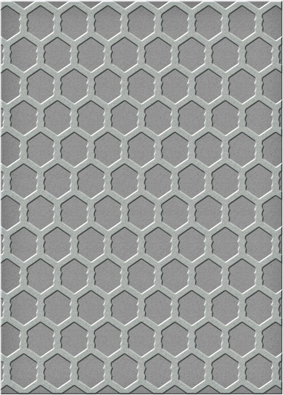 Spellbinders-Fustella per goffratura grande imbrattata di cerchi in acrilico, 3 pezzi
