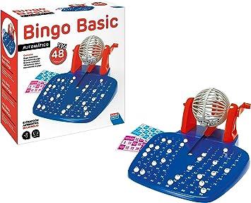 Falomir Bingo Automático Mesa. Juego Clásico, Multicolor, 28 x 29 x 11 cm (27921): Amazon.es: Juguetes y juegos