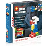 Light 50LED Stax S 12012Set Compatible with Lego Blocks in 6Colours Plus Mobile Power Brick