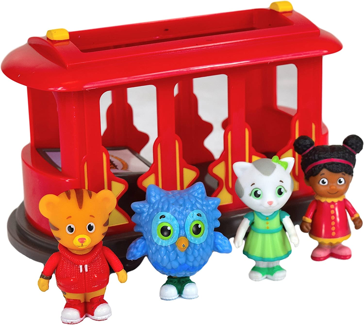Daniel Tiger's Neighborhood Trolley & Play Set