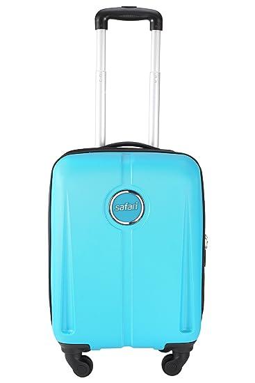 Ordinaire Safari Revolution 55cm PolyCarbonate Hard Sided Cabin Baggage (Cyan)