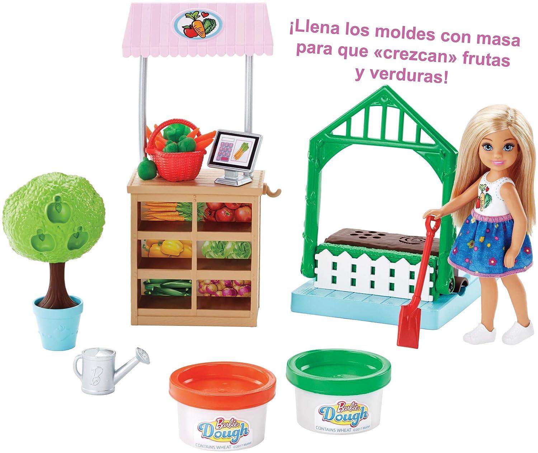 Amazon.es: Barbie Muñeca Chelsea y su huerto, accesorios muñeca (Mattel FRH75): Juguetes y juegos
