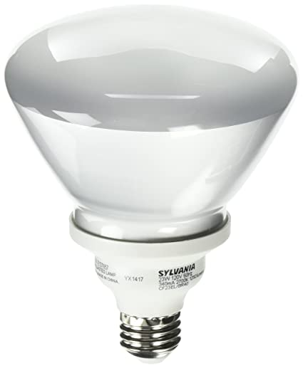 Sylvania 29452   CF23EL/BR40/827/RP Flood Screw Base Compact Fluorescent  Light