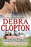Bride for Hire: Clean and Wholesome Romance (Cowboys of Ransom Creek  Book 2)
