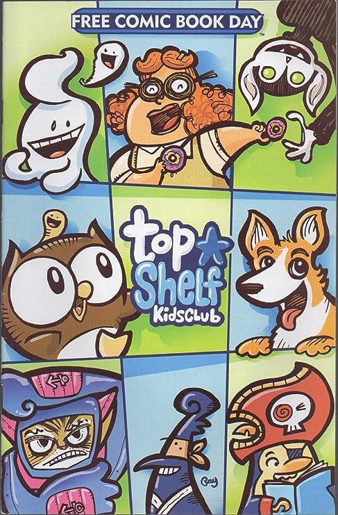 Amazon.com : Top Shelf Kids Club (Free Comic Book Day (FCBD ...
