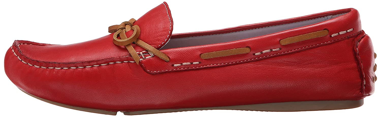 Johnston & Murphy Women's Maggie Camp Moccasin B00LCF625Y 6 B(M) US|Cardinal Red