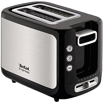 Tefal Express 720-Watt Pop Up Toaster (Metallic Grey) Oven Toaster Grills at amazon