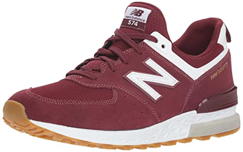 46a9bea87e New Balance 574S, Sneaker Uomo, Rosso (Classic Burgundy/White Fcw),