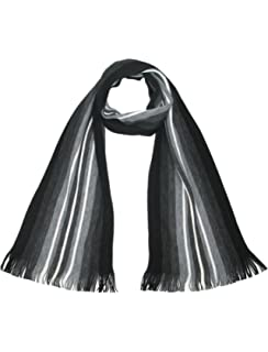 7186210d911d4 Lovarzi Men's Striped Scarf - Stay warm in this finest quality knitted  winter scarf
