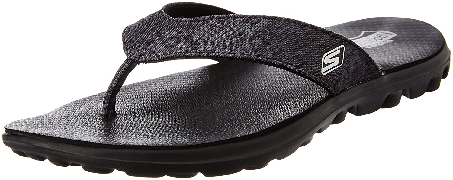 4d2f2158efe9b Skechers Women s On The On The Go Flow Flip Flops  Amazon.co.uk  Shoes    Bags