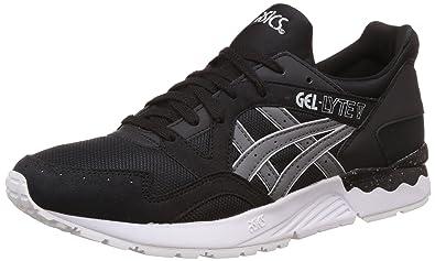 Asics Tiger Unisex Black and Grey Sneakers - 8 UK/India (Men 42.5 EU/9 US)(Women 42 EU/10 US)