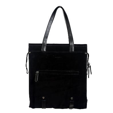 793c3722a7 Image Unavailable. Image not available for. Color: Belstaff 100% Leather  Black Women's Shoulder Bag