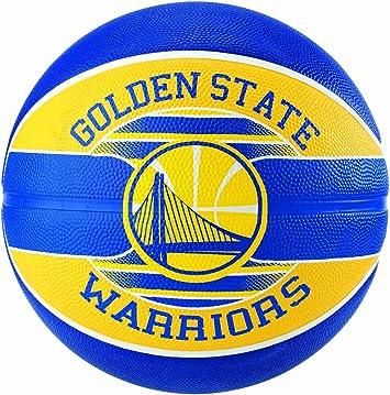 Spalding Ballon NBA Team Ball Golden State Warriors: Amazon.es ...