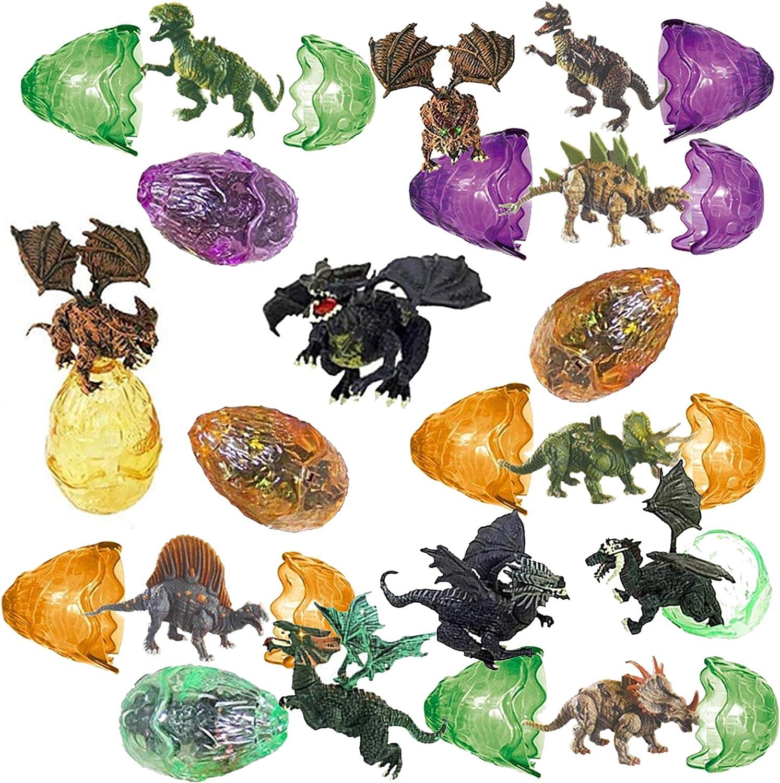 Amazon.com: Totem World - 12 huevos de dragón rellenos de ...