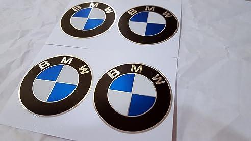 Lenkrad Aufkleber,4u0026nbsp;x 65u0026nbsp;mm Durchmesser, Mit BMW Emblem