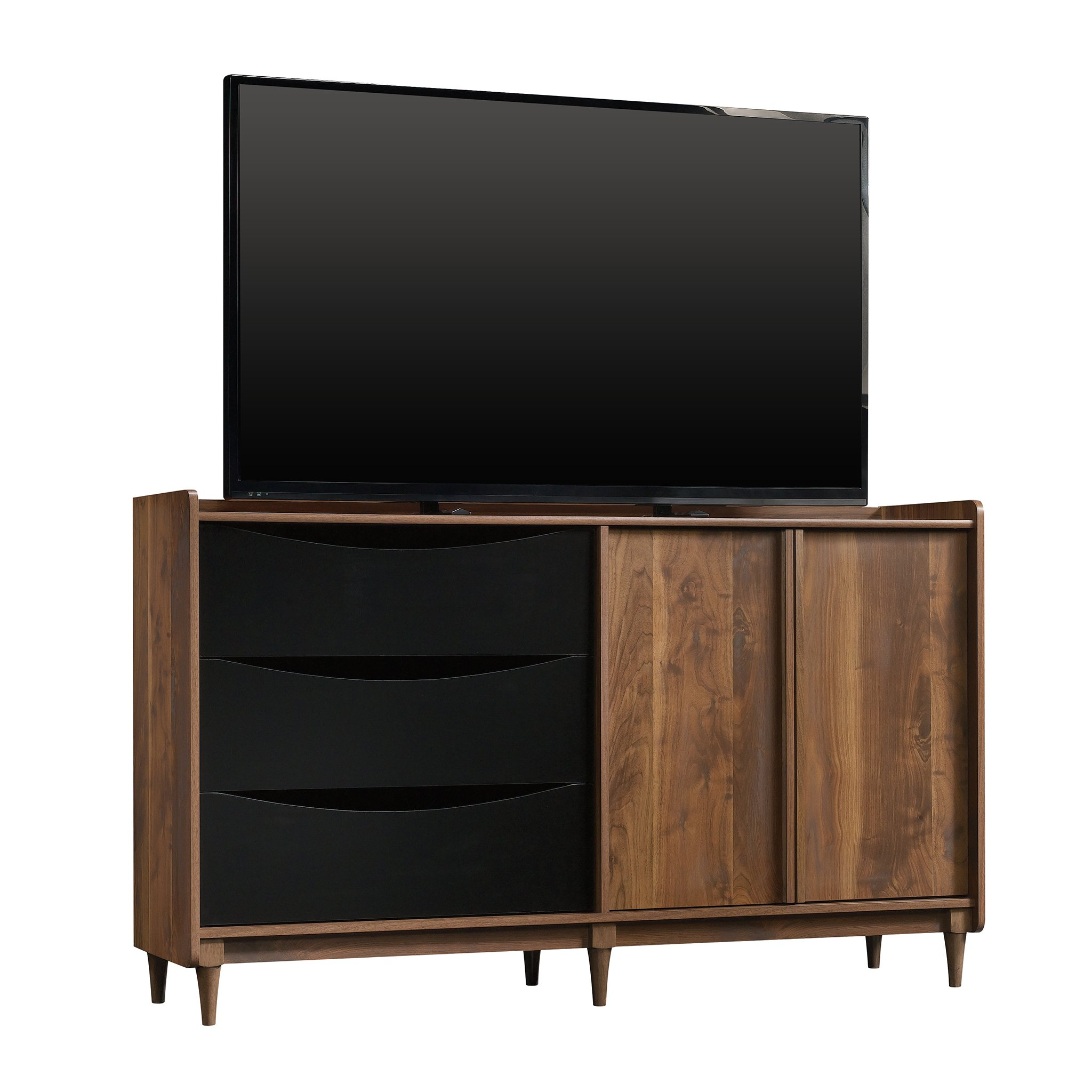 Sauder 420280 Harvey Park Entertainment Credenza, Grand Walnut Finish by Sauder (Image #2)