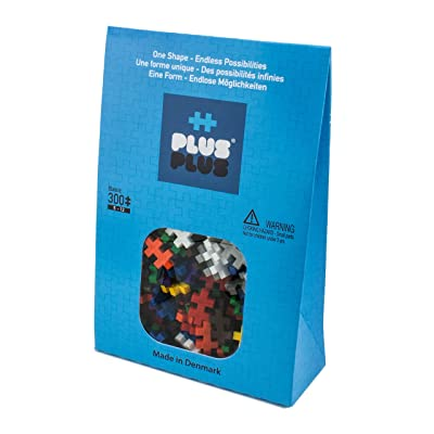 PLUS PLUS – Basic Mix - 300 Piece, Construction Building Stem/Steam Toy, Mini Puzzle Blocks for Kids: Toys & Games