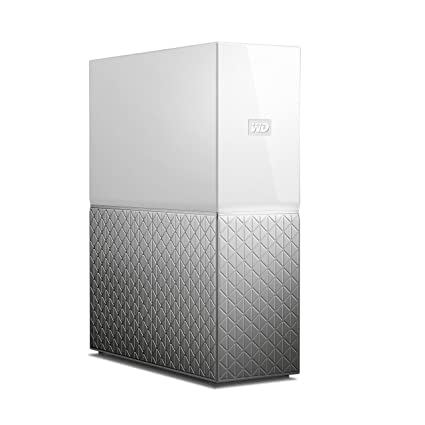 WD My Cloud Home WDBVXC0040HWT-BESN 4TB Network Attached Storage (White)  Personal Cloud