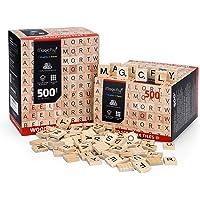 Magicfly Letras de Madera Números de Madera 1000