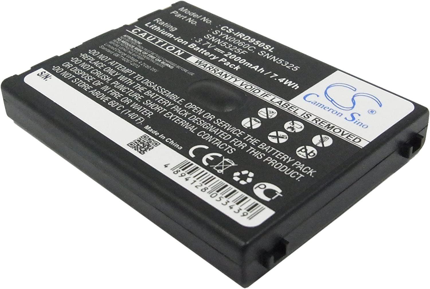 GAXI Battery for 9500, 9505 Replacement for Iridium Satellite Phone Battery