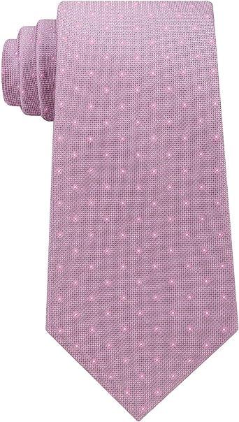 Calvin Klein - Corbata para hombre, diseño de lunares, color rosa ...