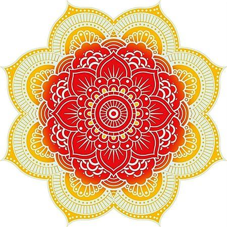 Toalla de Playa Redonda Indian Bohemio Mandala Toallas de ...