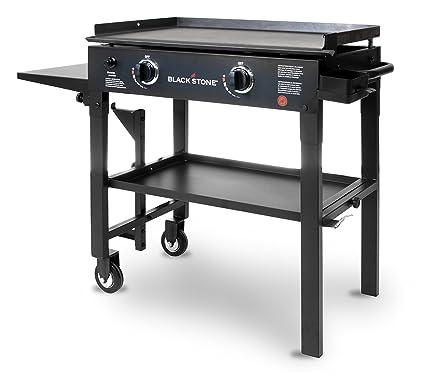 outdoor kitchen burner built blackstone 28 inch outdoor flat top gas grill griddle station 2burner propane amazoncom