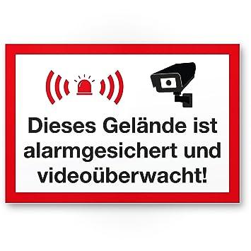 Terreno Alarma gesic Hert/vídeo mediante wacht Cartel vídeo ...