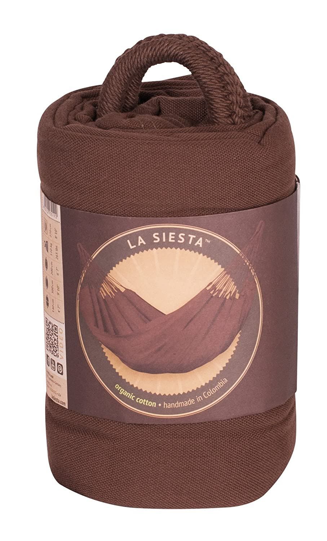 LA SIESTA Organic Single Hammock Modesta Latte MOH14-1