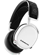 SteelSeries Arctis 7 (2019 Edition) Lossless Wireless Gaming Headset with DTS Headphone:X v2.0 Surround for PC and PlayStation 4 - White