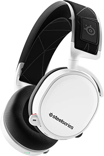 Amazon Com Steelseries Arctis 7 Lossless Wireless Gaming Headset With Dts Headphone X V2 0 Surround For Pc And Playstation 4 White Computers Accessories