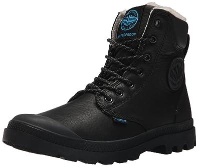 98be6d5c79e Palladium Pampa Sport Cuff WPS, Unisex-Erwachsene Stiefel & Stiefeletten,  Schwarz (Black