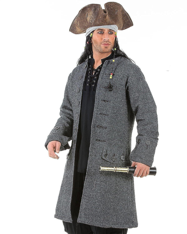 4a26fec4 Top12: ThePirateDressing Jack Sparrow Pirate Renaissance Medieval Mens  Costume Coat