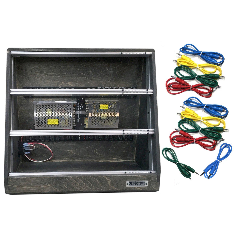 Pittsburgh Modular Structure EP-270 270hp Desktop Eurorack Enclosure w/ 10 Cables